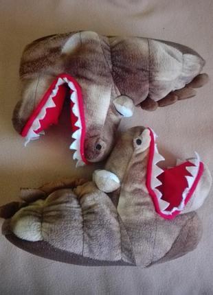Тапочки динозаврики от next