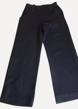 Rrp 427€ брюки новые черные из плотной шерсти *sonia rykiel* 44-46р