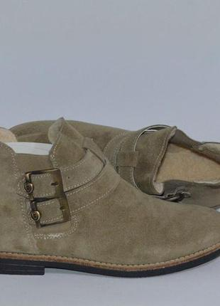 Французкие ботинки фирми laif уже в украине!100% замша .земшевые 36 39