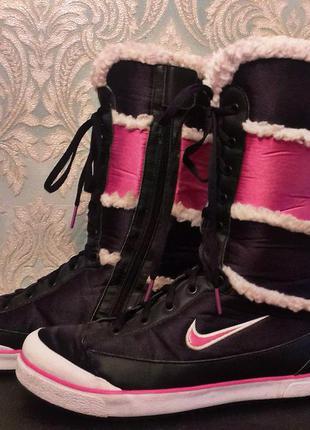 Сапоги nike зимние зима ботинки кроссовки