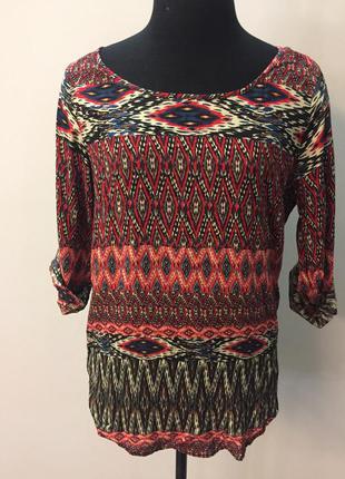 Рубашка в этно стиле zara