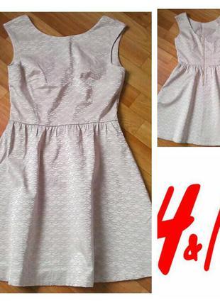 Фирменное платье h&m, размер 38 8