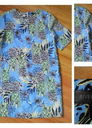 Фирменное платье river island, размер 12 38