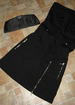 Котоновое платье бандо