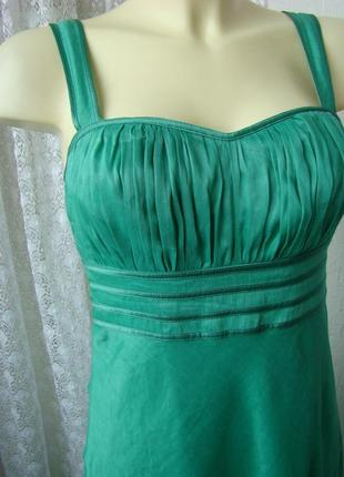 Женское платье сарафан лен
