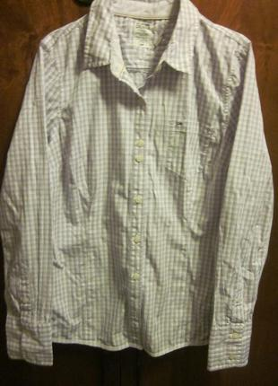 Фирменная рубашка tommy hilfiger размер l