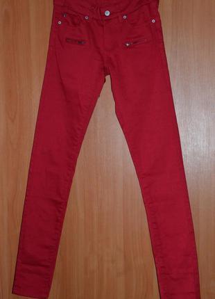 Новые штаны-скинни oodji