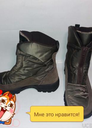 Ботинки зимние rohde размер 37 стелька 24 см