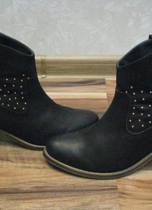 Кожаные ботинки next (некст) р.39 оригинал идеальное состояние