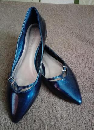 Туфли лодочки / балетки на низком каблуке от m&s