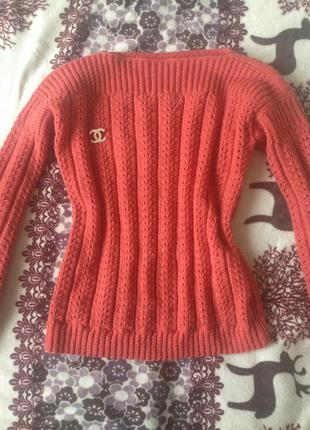 Кардиган свитер ручной работы
