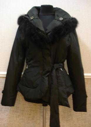 Дизайнерский пуховик утепленная куртка молодежная куртка