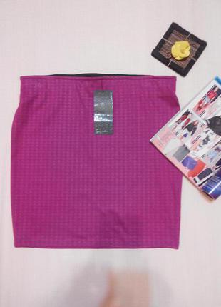 Супер юбка из плотного трикотажа