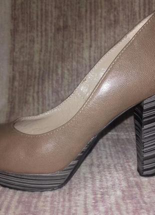 Туфли best but (польша) натуральная кожа