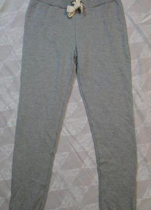Теплые серые штаны