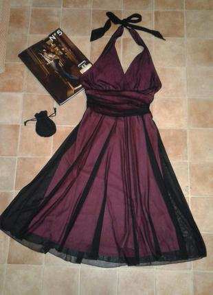 Вечернее платье, черное. коктейльное