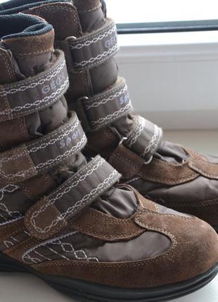 Зимние geox 38р сапоги ботинки оригинал