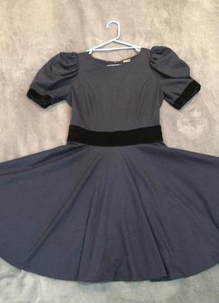 Синие платье tago