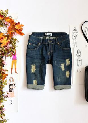 Джинсовые шорты джинсовые
