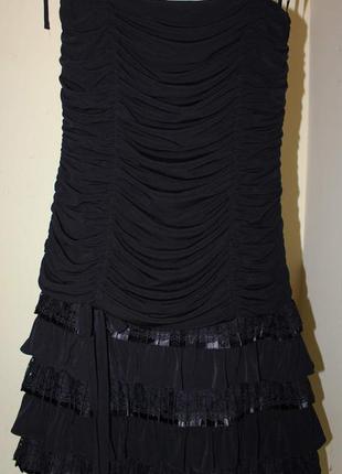 Коктейльное платье vera mont один раз надето