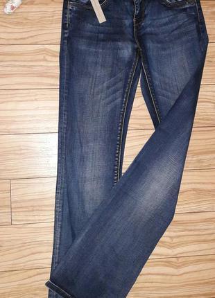 Супер модные трендовые плотные джинсы франция