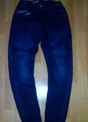 Loose denim by lindex джинсы темно синие плотные