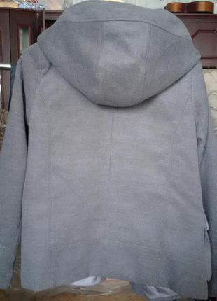 Осеннее пальто дафлкот pull & bear2