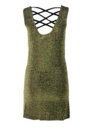 Золотое платье от forever 215