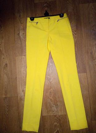 Желтые штаны oodji
