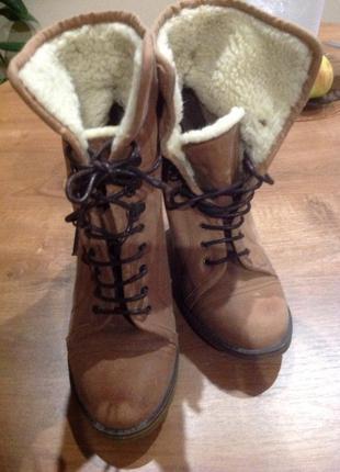 Ботинки bershka 39