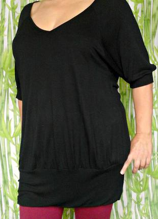 Комфортный блузон большой размер - недорого