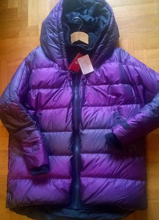 Распродажа 1 день! ультрамодная oversize cocoon куртка, пуховик-парка, nike uptown 550 parka l, xl2