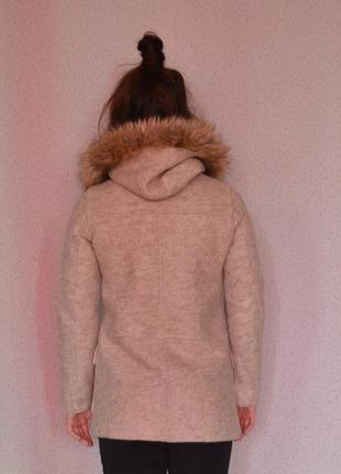 Крутое зимнее пальто zara2