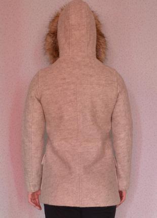 Крутое зимнее пальто zara3