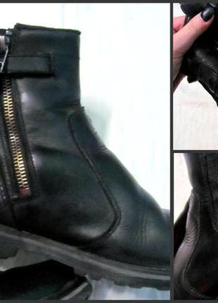 Ботинки челси полусапожки кожа