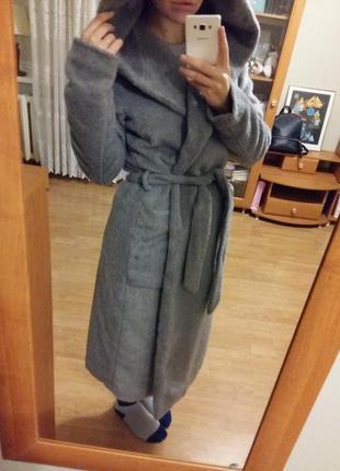 Теплое зимнее пальто reserved