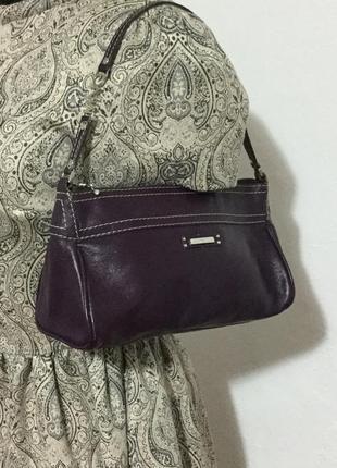 Стильная, маленькая сумочка из натуральной кожи.