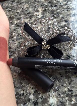 Супер помада карандаш golden rose matte lipstick crayon #21