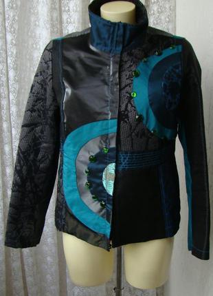 Жакет нарядный пиджак desigual р.50 №7331а