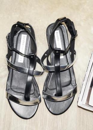 (36р.) bershka! красивые босоножки, стильные сандалии, гладиаторы