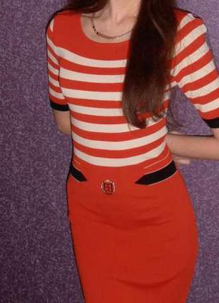 Нарядное брендовое платье тренд
