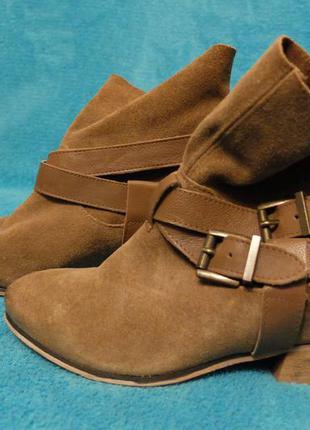 Шкіряні черевички bershka, 37 розмір, нові