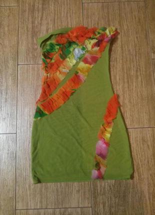 Платье бюстье сетка