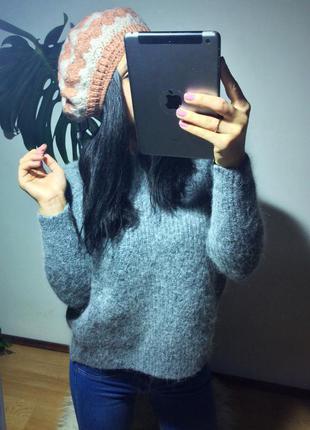 Берет шапка новый тёплый бежевый f&f