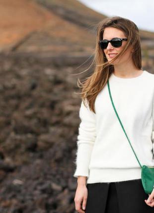 Ангоровый свитер h&m