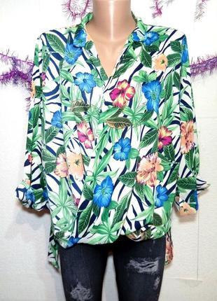 Блуза новая на запах р 12-14 maia hemera
