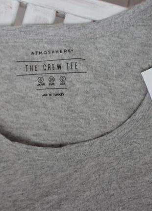 Новая с этикеткой футболка atmosphere4