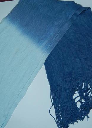 Красивый длинный фирменный шарф ,сток