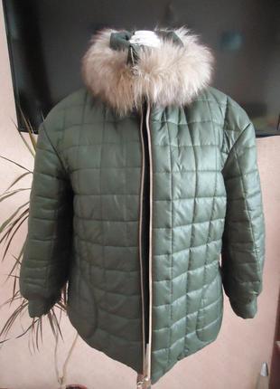 Зимняя куртка дизайнера anna yakovenko