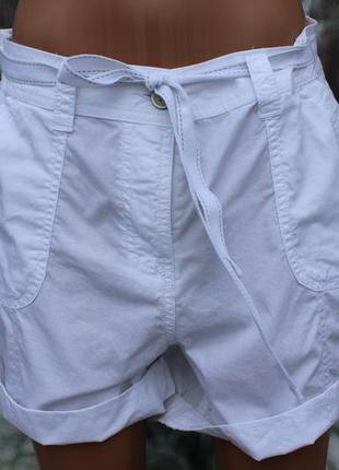 Белые летние шорты george